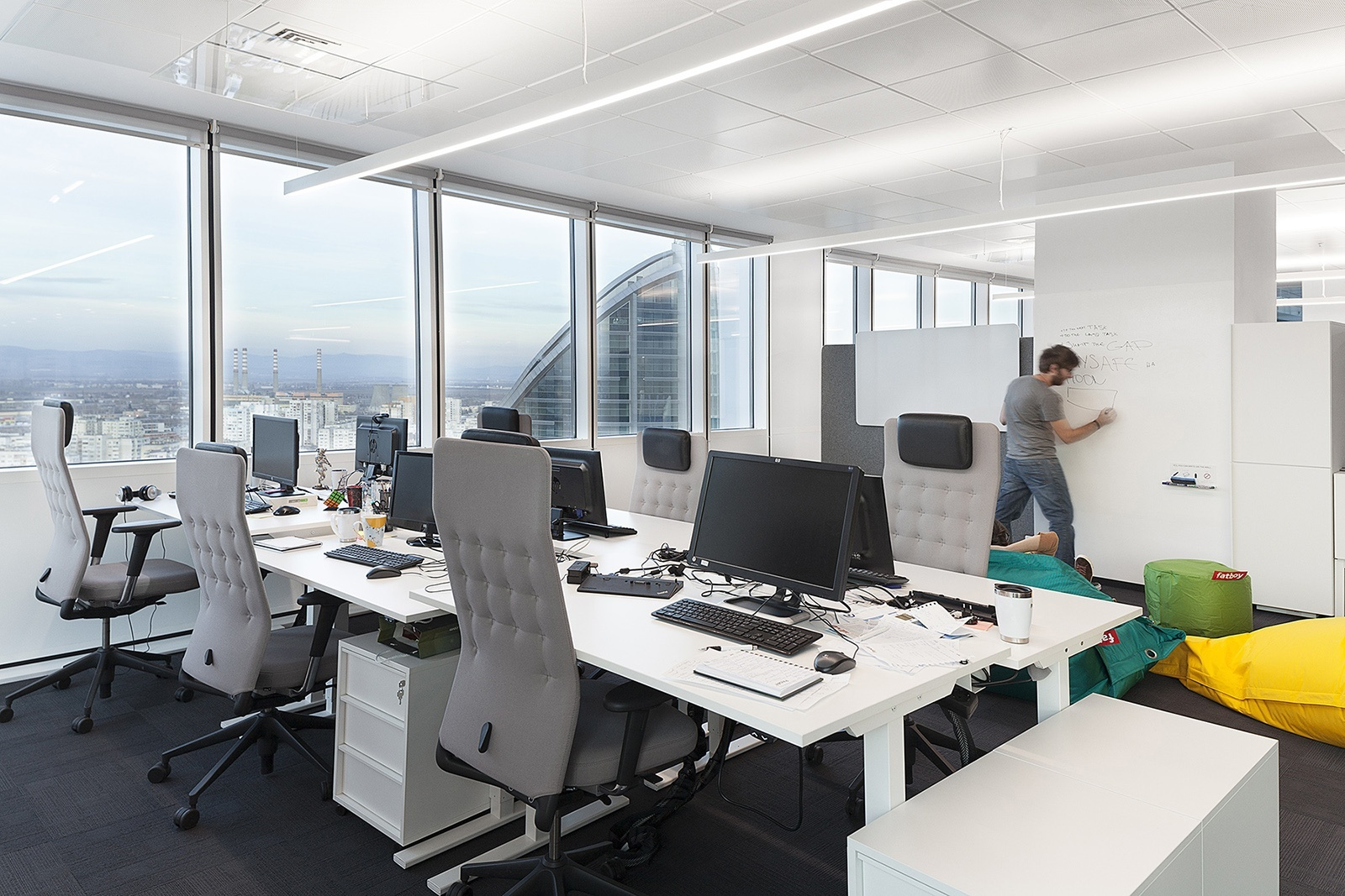 Another Look Inside Paysafes New Sofia Office  Officelovin