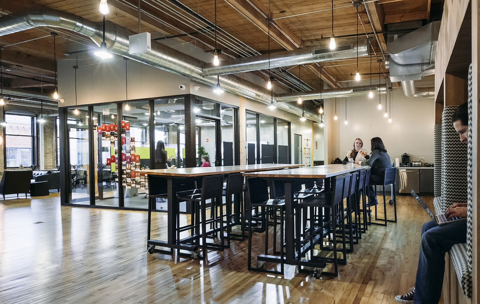A Look Inside Industrious Chicago Coworking Space