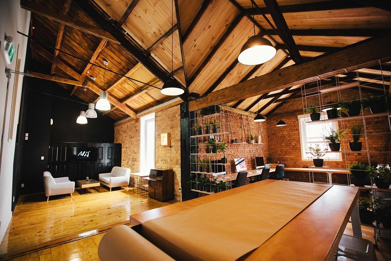 Inside Motion Sickness Studios Minimalist Auckland Office
