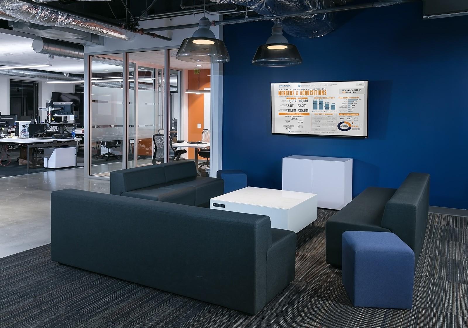 Inside PitchBooks New Seattle Office  Officelovin