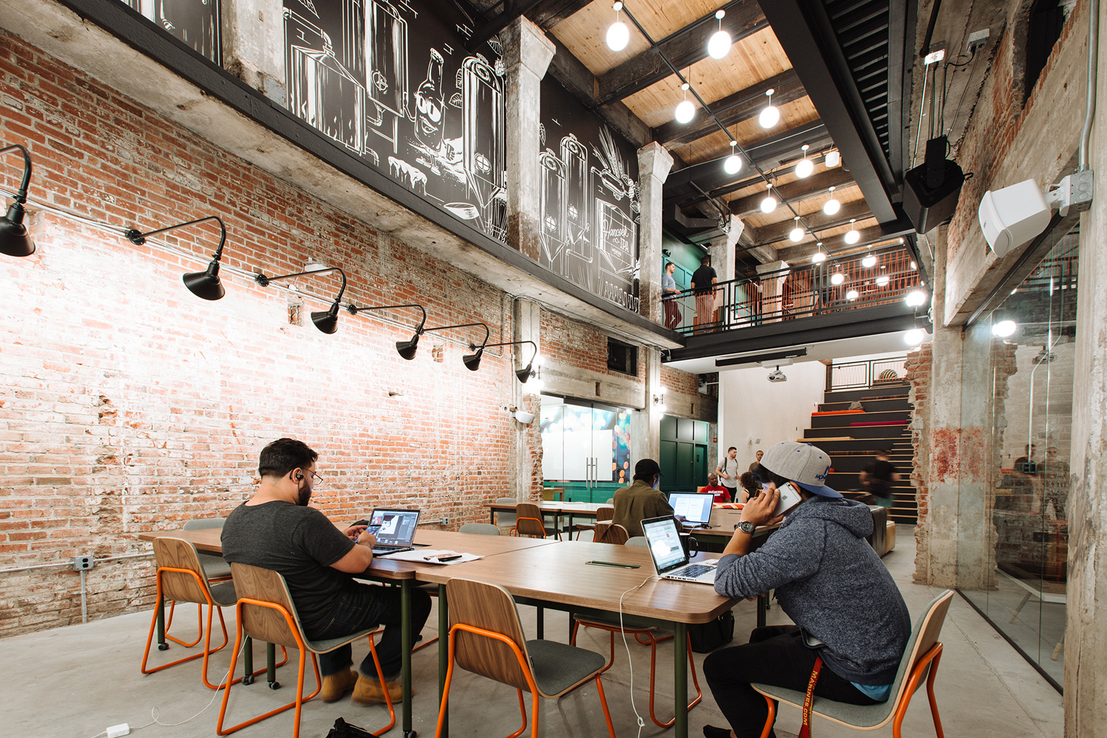 A Tour of WeWorks New Coworking Space in Philadelphia