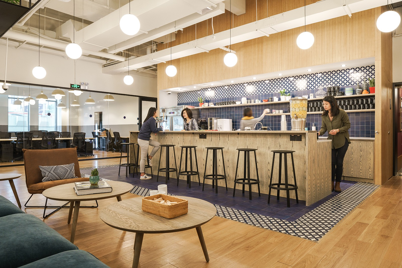 A Tour of WeWork  YanAn Dong Lu  Officelovin