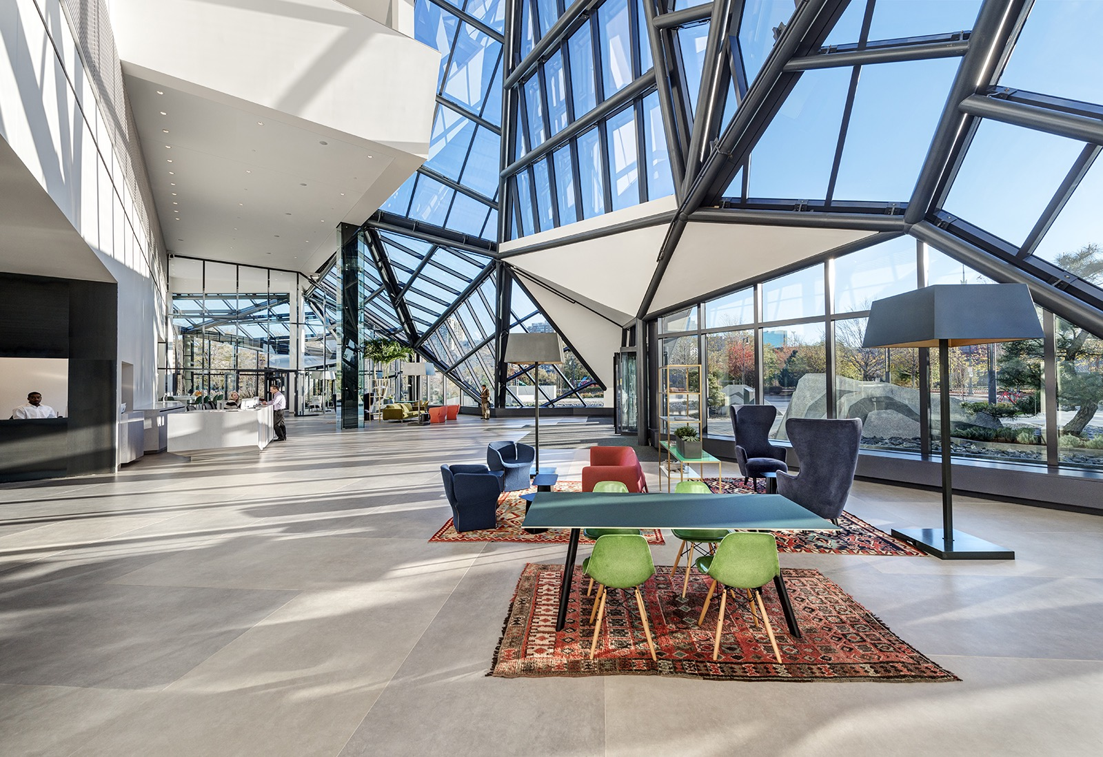 A Tour of EF Education Firsts Modern Cambridge Headquarters  Officelovin