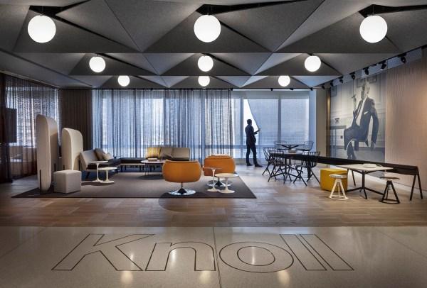Tour Of Knoll Sleek Los Angeles Office - Officelovin'