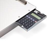 Aluminum Forms Holder, Storage w/calculator