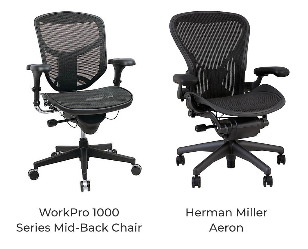 office chair vs task posture ball 4 quality herman miller alternatives that are also cheap