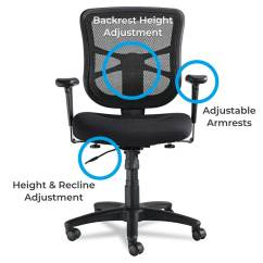 Alera Office Chairs Review Toilet Lift Chair Elusion Series Mid Back Vs High Included