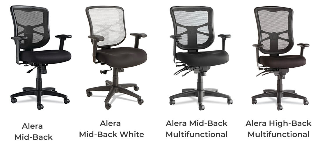 alera elusion chair stool translate to chinese series review mid back vs high included multifunctional
