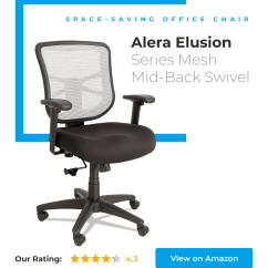 Alera Elusion Series Mesh Mid Back Multifunction Chair Easy Covers For Sale 14 New And Best Office Chairs In 2018 Under 100 200