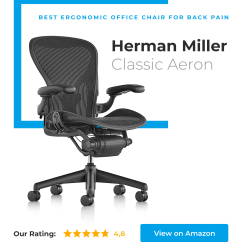 Best Office Chair For Back Pain Bed Bath And Beyond Kitchen Covers 14 New Chairs In 2018 Under 100 200 High End Most Popular Probably Ergonomic Herman Miller Classic
