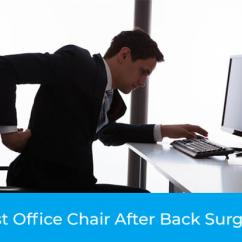 Best Chair After Back Surgery Massage Portable Top 3 Office Update 2018 The Products