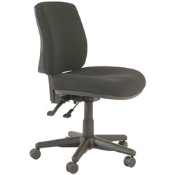 office chair nz accent chairs under 50 ergonomic officemax buro roma mid back 2 levers fabric