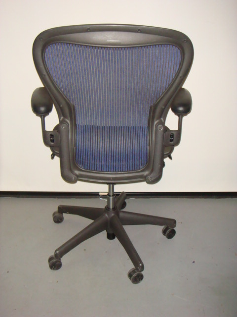 Herman Miller Aeron ChairBlue Mesh  Used Office