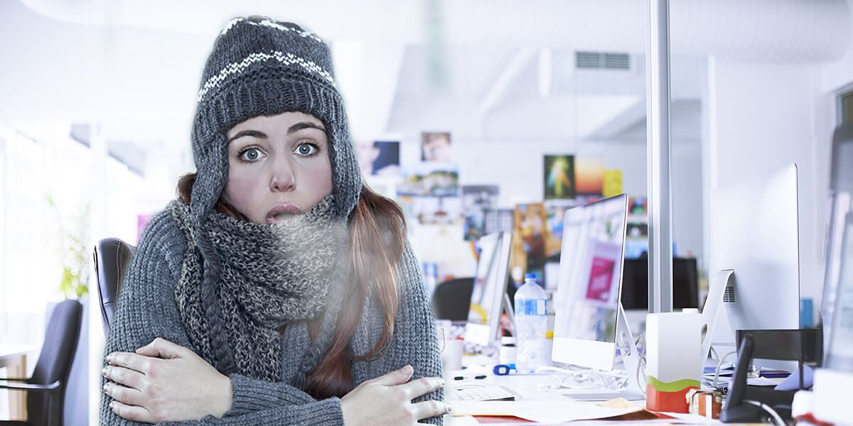 Keep your cool in freezing office temperatures | The ...