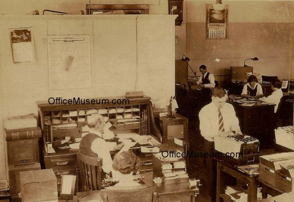 1950s Office Interior Design