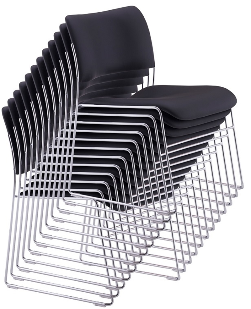 Used Chairs Howe 404 Classic Chrome Frame Stacking Chair