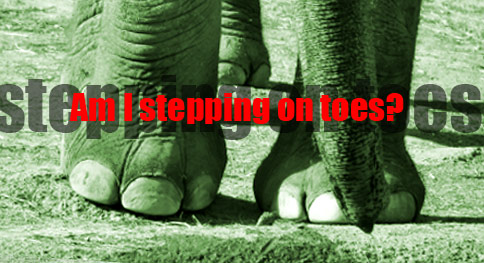 OfficePolitics  Im accused of stepping on toes