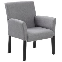 Modern Grey Guest Chairs, Reception Room Chairs ...