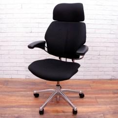 Freedom Task Chair With Headrest Diy Folding Adirondack Plans Humanscale Chrome Frame