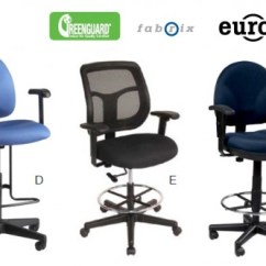 United Chair Medical Stool Posture Ergonomic Office Resource Group 9to5 Boss Eurotech And Stools