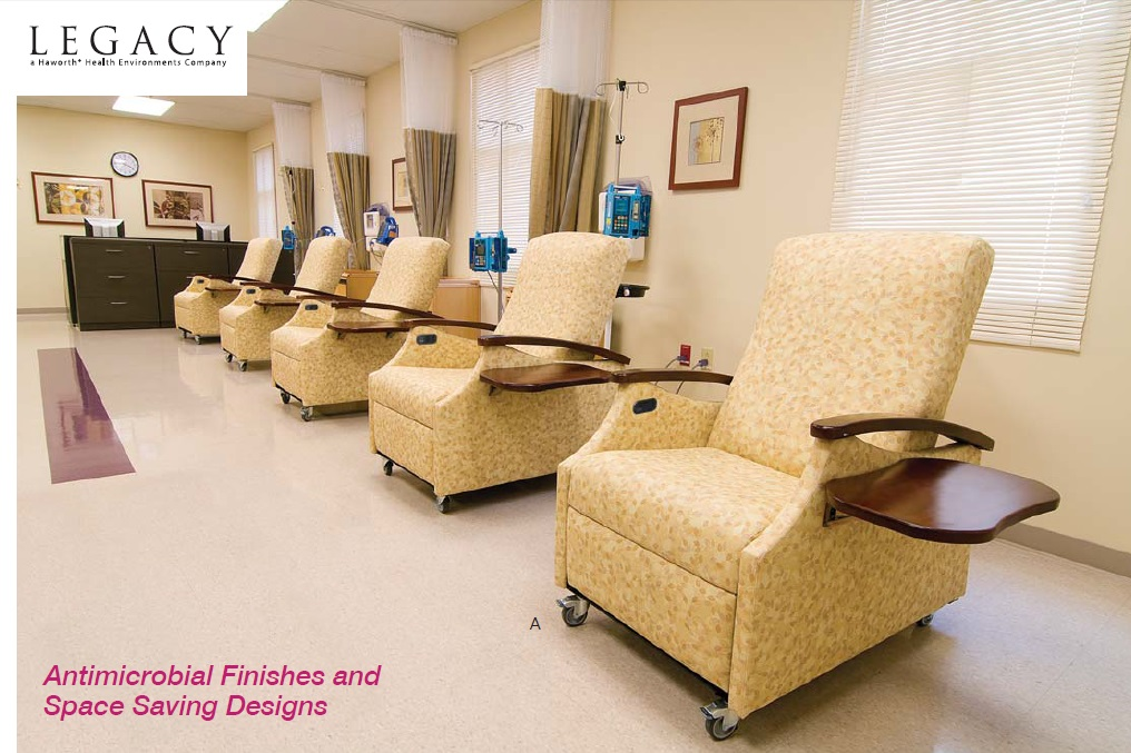 Haworth Legacy Health Care Antimicrobial Recliners