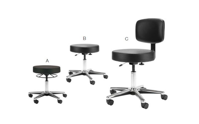 united chair medical stool best chairs inc swivel rocker recliner stools office resource group product image