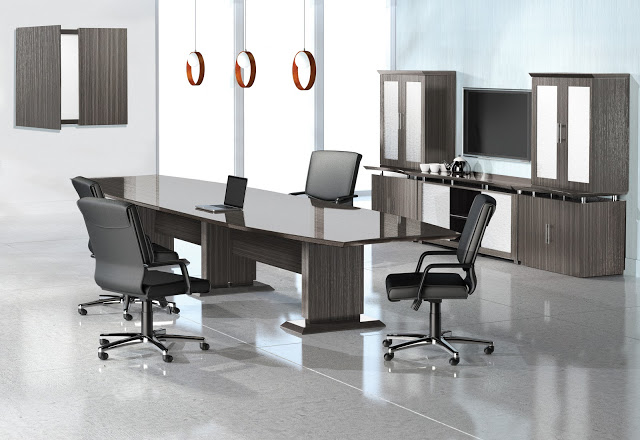 Mayline Sterling 12ft Laminate Conference Table3 Colors