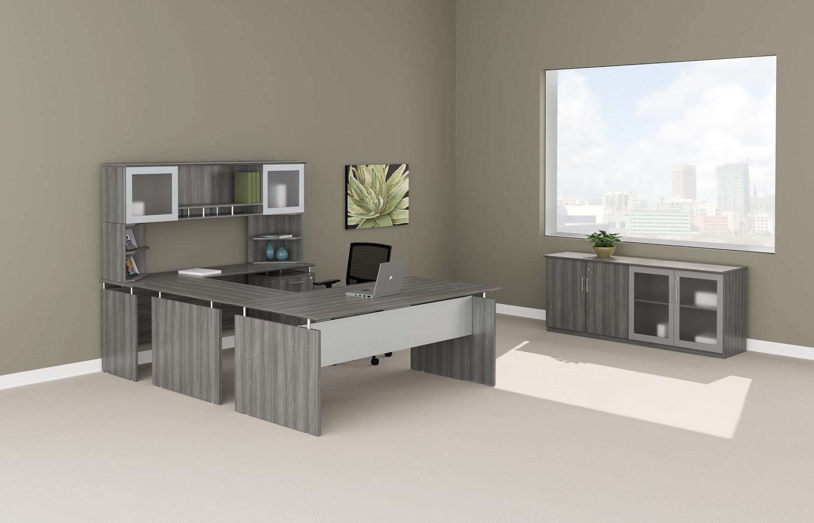Mayline Medina 72 Executive U Group Desk Office Suite 5