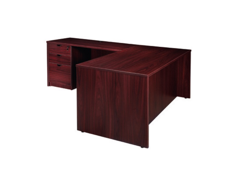 Express 71 L Shape Desk With 2 Full Storage Pedestals 3