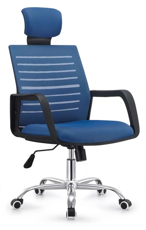 folding executive chair eddie bauer 3 in 1 high stylish design back office blue computer desk chairs china for home supplier
