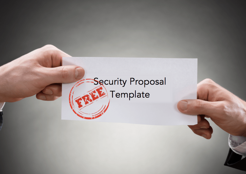 Free Security Proposal Template For Security