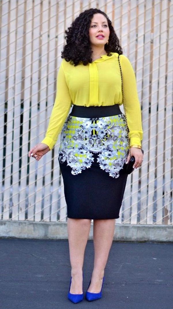 Office Approved Outfits For Plus Size Women 9  Office Salt