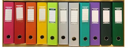 Bantex A4/ F4 PVC Box File 全包膠顏色文件夾 1450