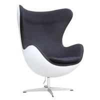 Fine Mod Imports Fiesta Fiberglass Chair In Wool FMI9011 ...
