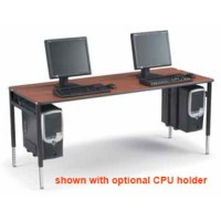 Two Person Student / Lab Computer Desk Workstation Smith ...