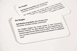 23/07/2012· create a template for the label. Museum Placards Gallery Wall Artist Plaque