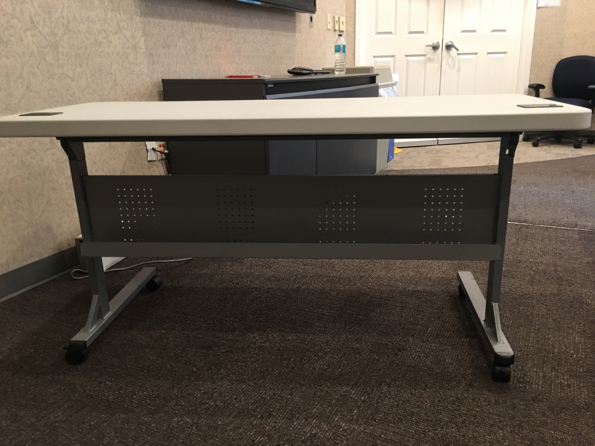 Used Flip Top Nesting Training Tables 24 deep x 60 wide