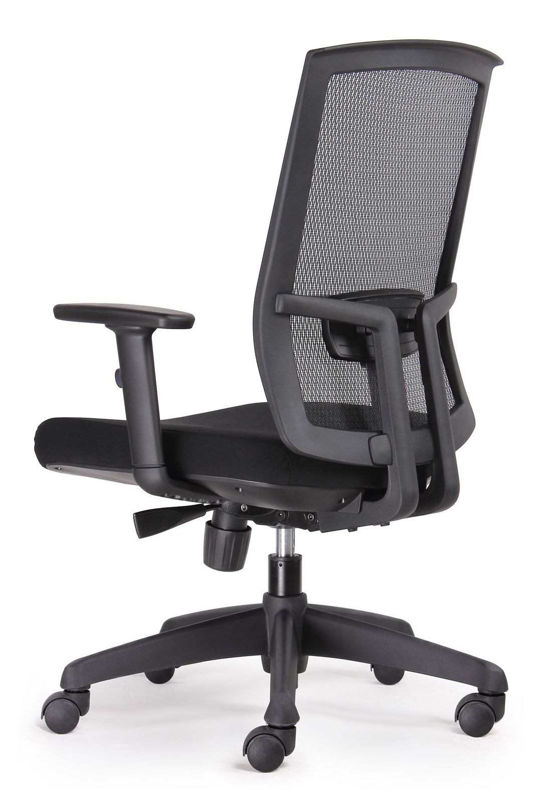 ergonomic chair brisbane metal frame west elm kal black promesh mesh high back task office stock