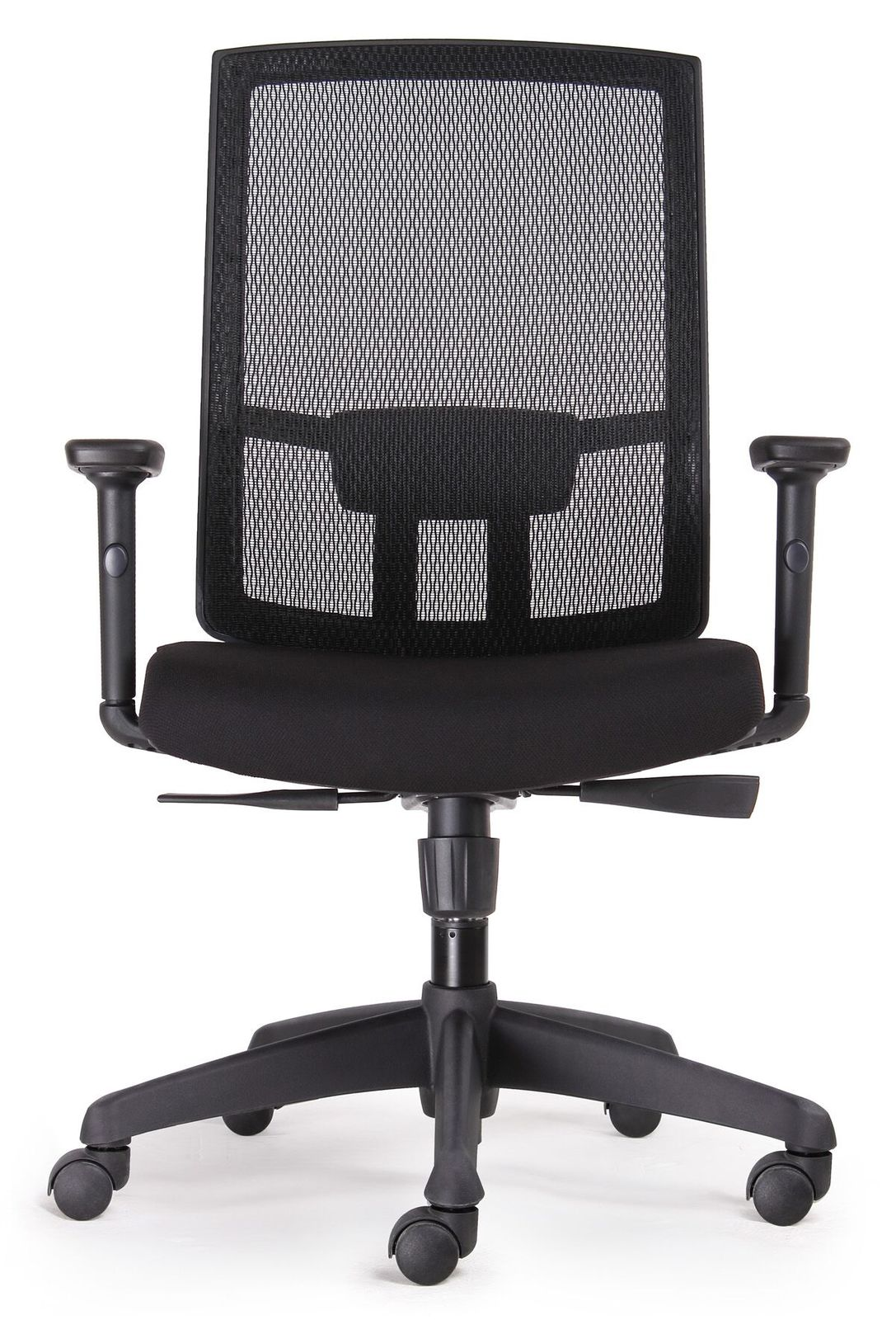 mesh back chairs for office marge carson kal black promesh high task chair stock
