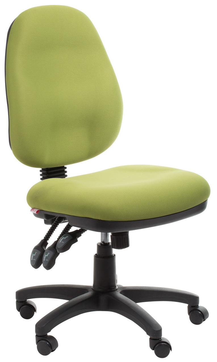 Adelaide Ergonomic Commercial Fabric Office Chair  Green