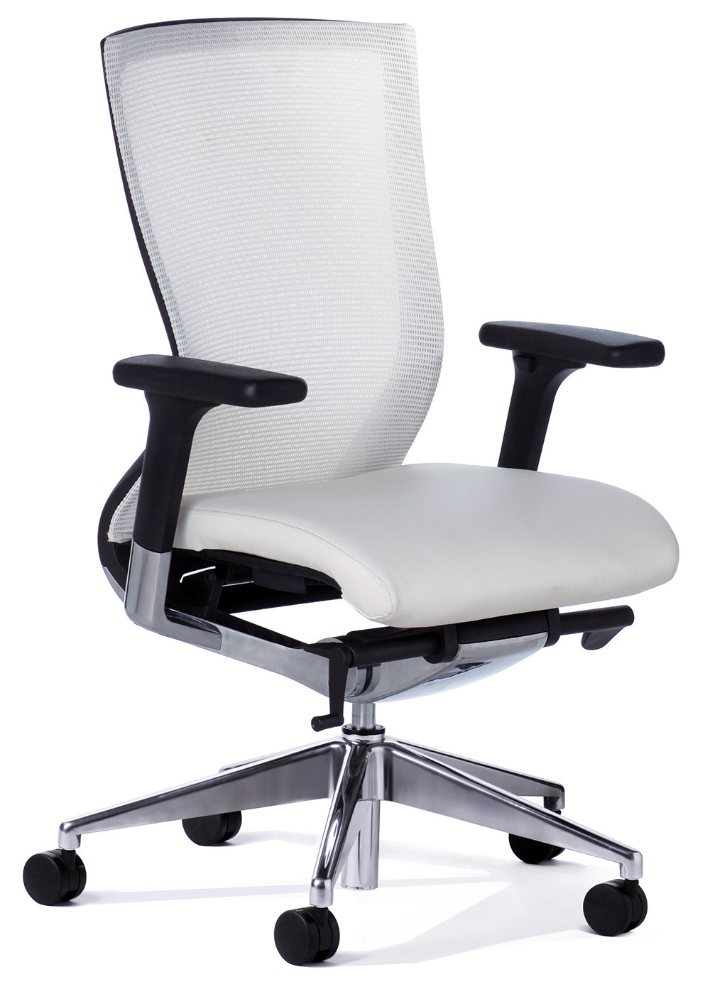 Balance White Mesh Back Executive Chair  Office Stock