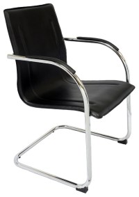 Comfo Chrome Cantilever Visitor Chair | Office Stock