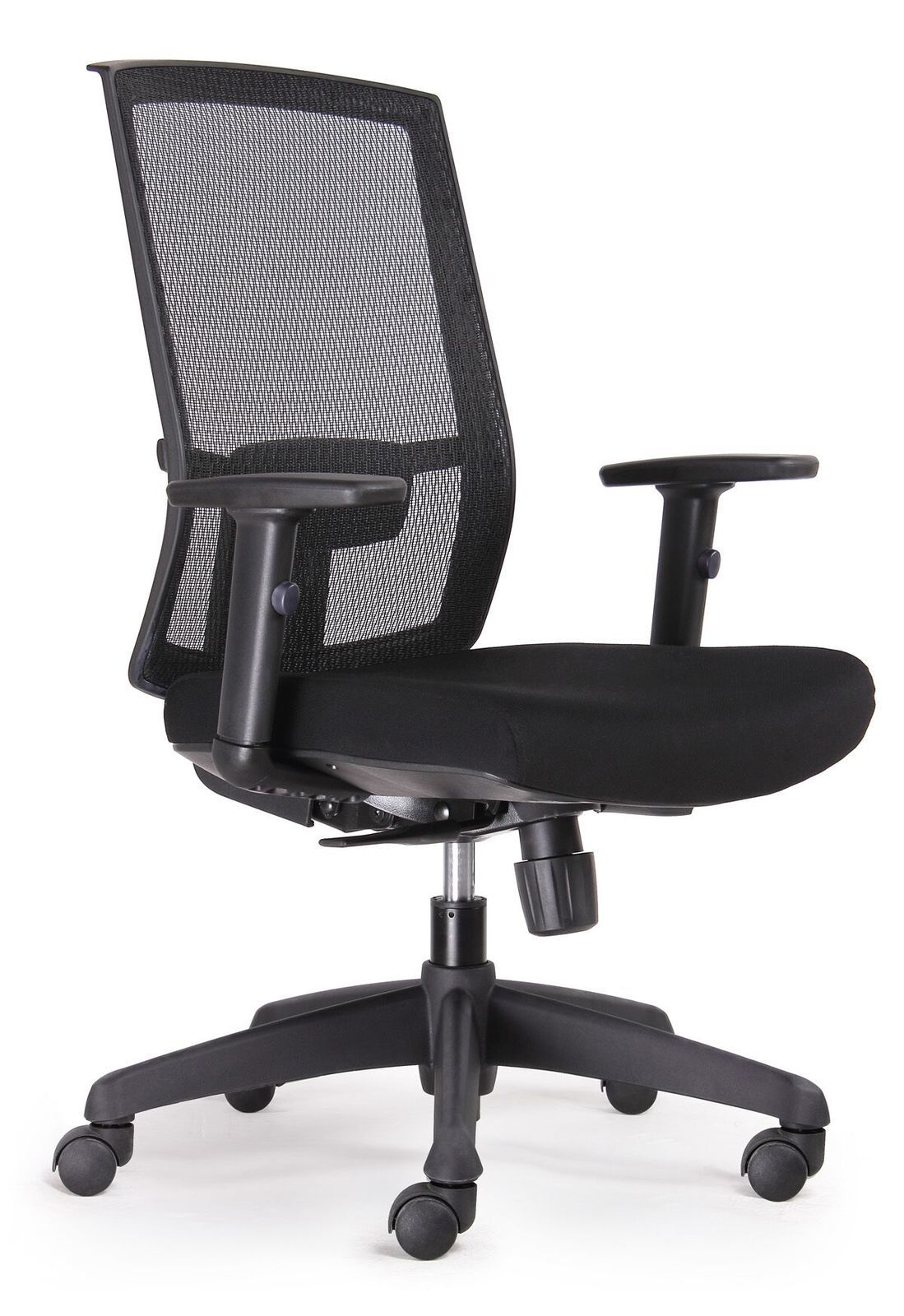 ergonomic chair description lowes rail tile kal black promesh mesh high back task office stock