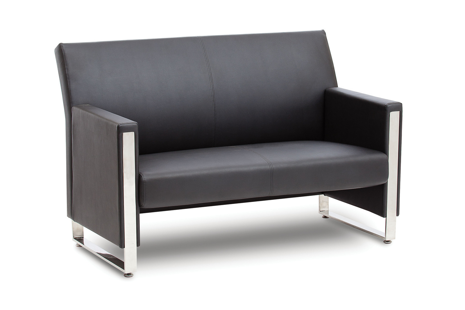 Metropol 2 Seater Reception Lounge Sofa Chair  Office Stock