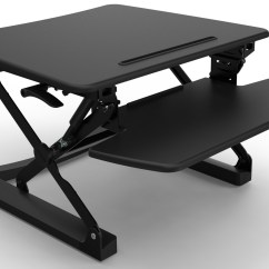 Chair Riser Stand Easy Oversized Comfy Rapid Black Height Adjustable Sit Desk