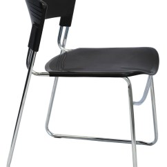 Executive Drafting Chair Design Diy Zola Stackable Chrome Sled Base | Office Stock