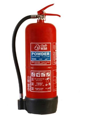 Fire Extinguishers HEBA ABC Dry Chemical 10 KG