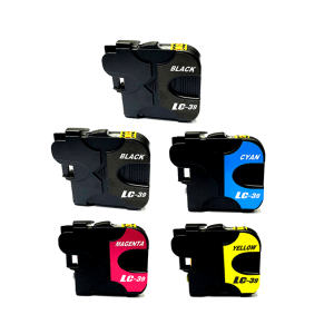 Compatible Brother LC-39 Five Colour Value Pack