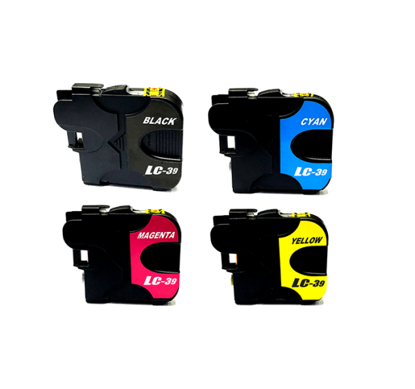 Compatible Brother LC-39 Four Colour Value Pack