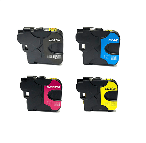 Compatible Brother LC-38 Four Colour Value Pack